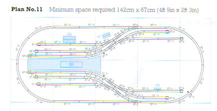 ST-PL11 Peco: Complete Track package for Peco Setrack Plan #11