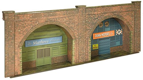 Superquick SQC08.0 Red Brick Arches Embankment Card Kit