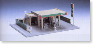 Tomix 4029 Gas Station (Jomo) (N scale)