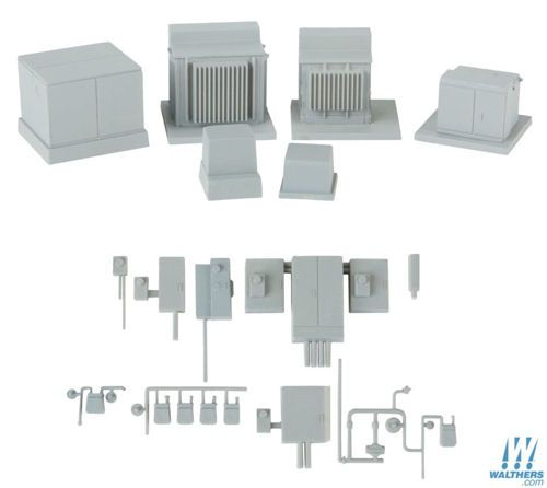 Walthers Cornerstone 933-4075 Modern Electrical Gear Kit