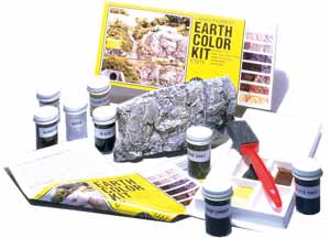 WC1215 Woodland Scenics: Earth Color / Colour Kit