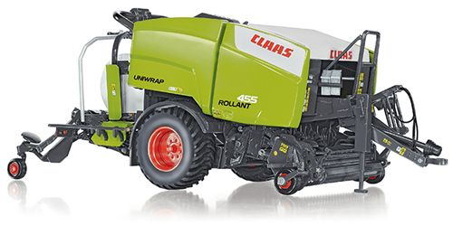 Wiking 077320 1:32 Diecast Claas Uniwrap Rollant 455