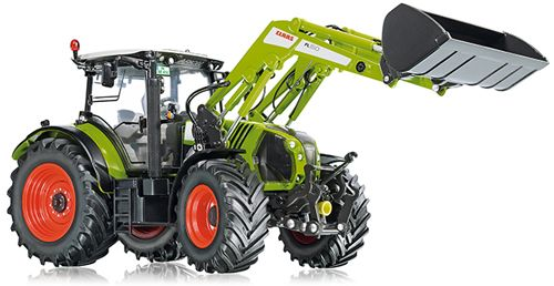 Wiking 077325 1:32 DIECAST Claas Arion 650m with Front Loader