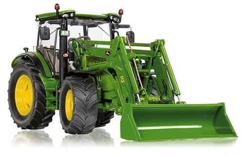 Wiking 077344  1:32 DIECAST John Deere 6125R with Front Loader
