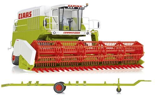 Wiking 077834 Claas Combine Harvester Commandor 116CS