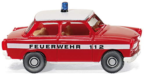 Wiking 086124  Trabant 601S Fire Service
