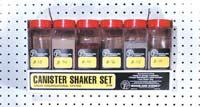 WS199 Woodland Scenics: Canister Shaker Set (contains 6)